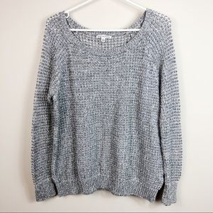 AEO Knit Grey Sweater